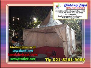 Menyewakan Tenda Sarnafil di Bekasi