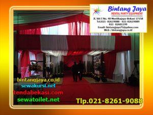 Menyewakan Tenda Serut Beragam Corak