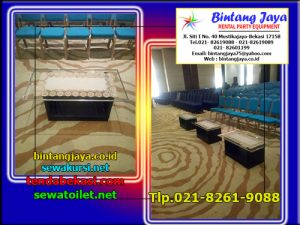 Menyewakan Meja VIP Kaca