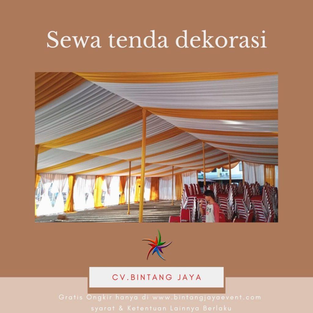 Menyewakan Tenda Pernikahan