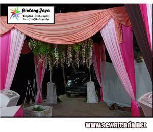 jasa persewaan tenda konvensional dilengkapi dekorasi berkelas dengan harga termurah promo desember