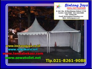Menyewakan Tenda Kerucut