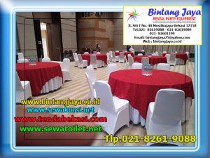 Sewa Meja Bulat di Bidara Cina