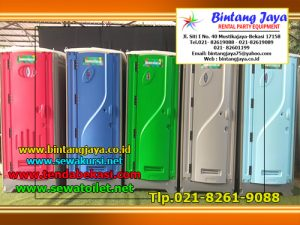 Rental Toilet Portable Bersih