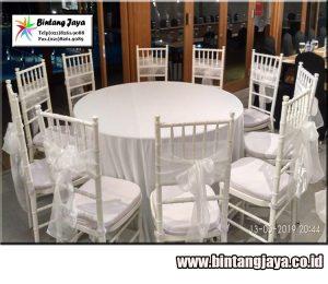 Pusat Sewa kursi tiffany murah acara meriah untuk daerah Jabodetabek