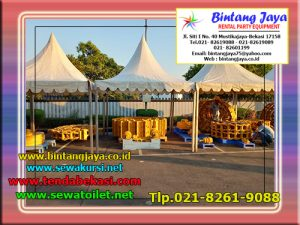 Menyewakan Tenda Sarnafil Atau Tenda Kerucut Untuk Acara Bazar