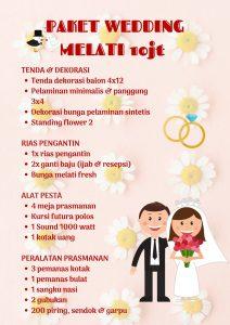 Harga Paket Wedding atau Pernikahan Hemat Berkualitas Jakarta
