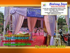 Jasa Sewa Tenda Dekorasi Lengkap Dengan Meja Kursi Juga Panggung