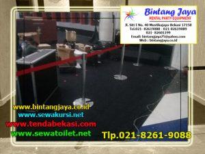 Sewa Tiang Antrian Bludru Jakarta