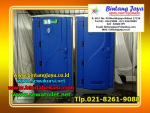 Persewaan Toilet Portable Gedung Graha Telkom Jakarta