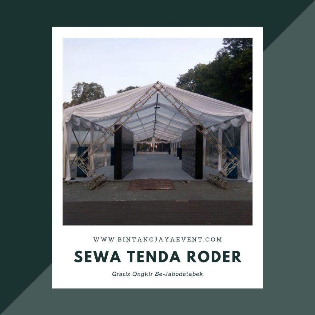 Jasa Penyewaan Tenda Roder Transparan