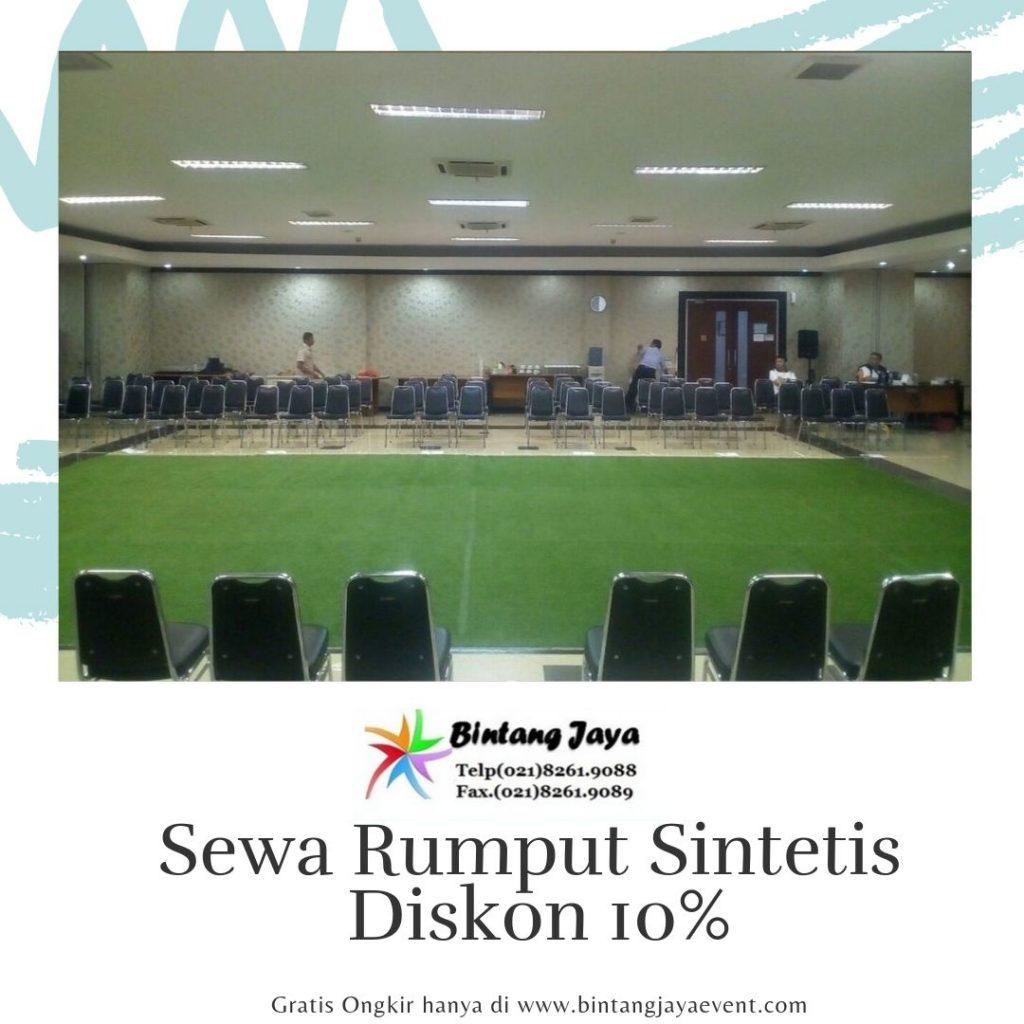 Jasa Penyewaan Rumput Sintetis Hot Promo