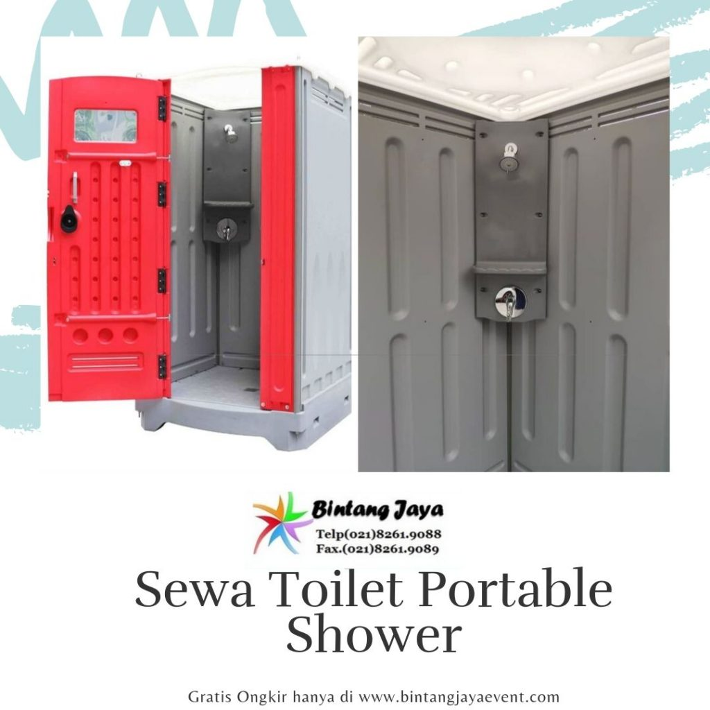 Paket Sewa Toilet Portable Shower
