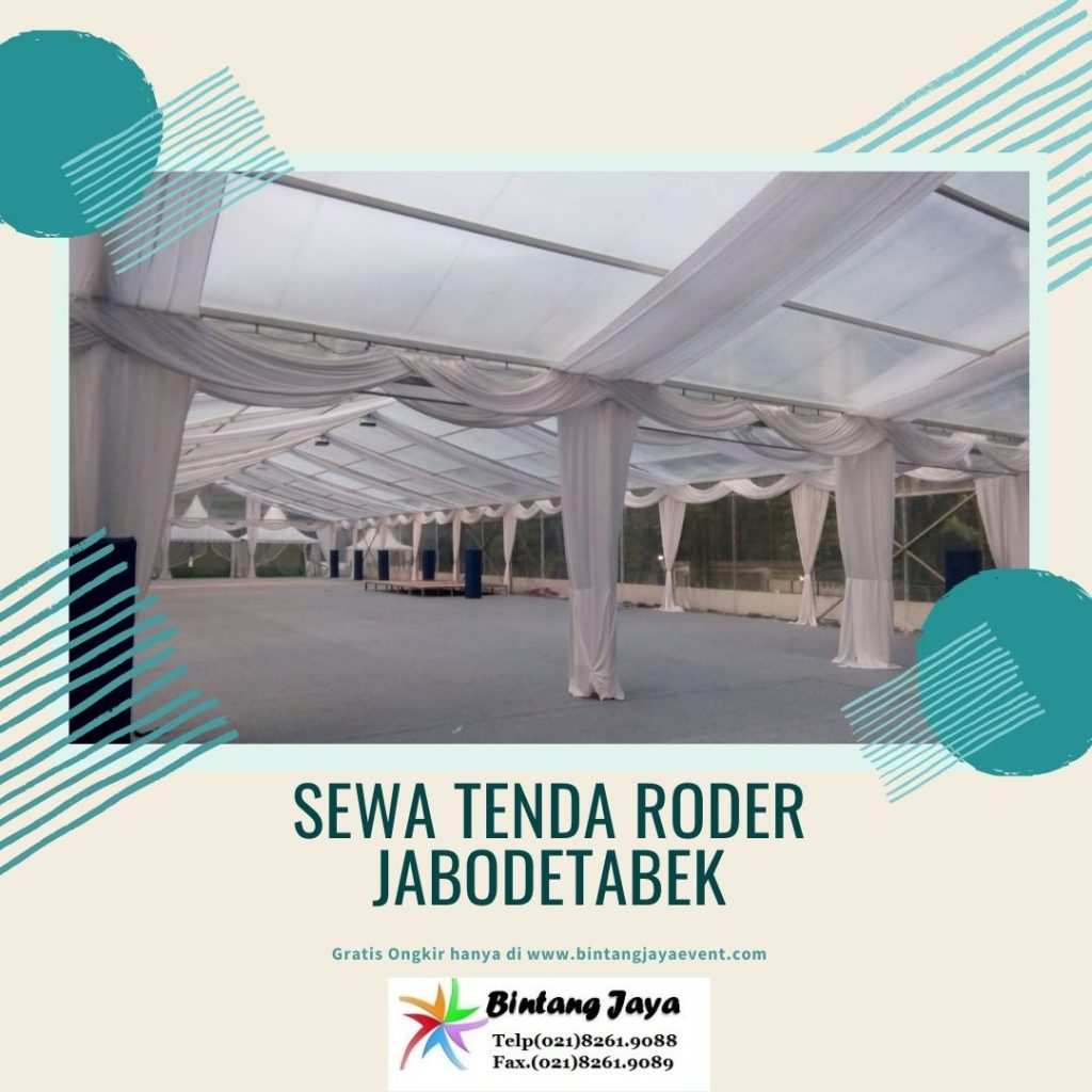 Rental Tenda Roder Transparan Cibarusah Bekasi