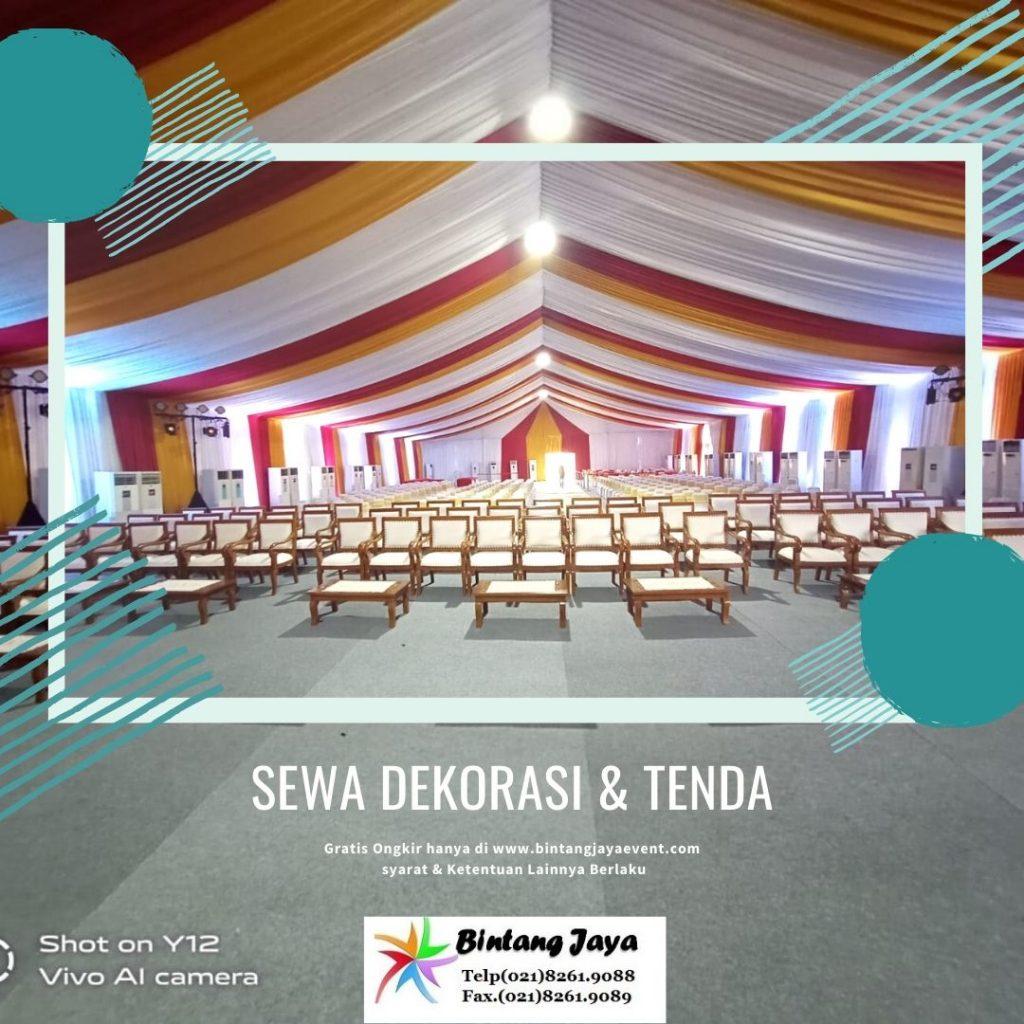 Jasa Sewa Dekorasi ruangan & tenda Murah Mewah
