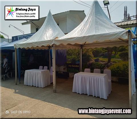 Rental Tenda Kerucut Kota Jababeka