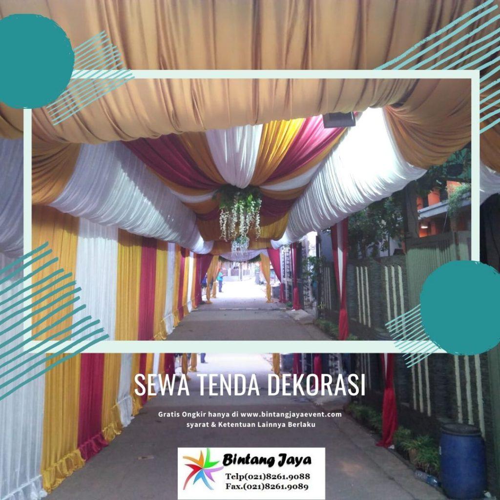 Sewa Tenda Dekorasi Mewah Berkualitas Kota Bekasi