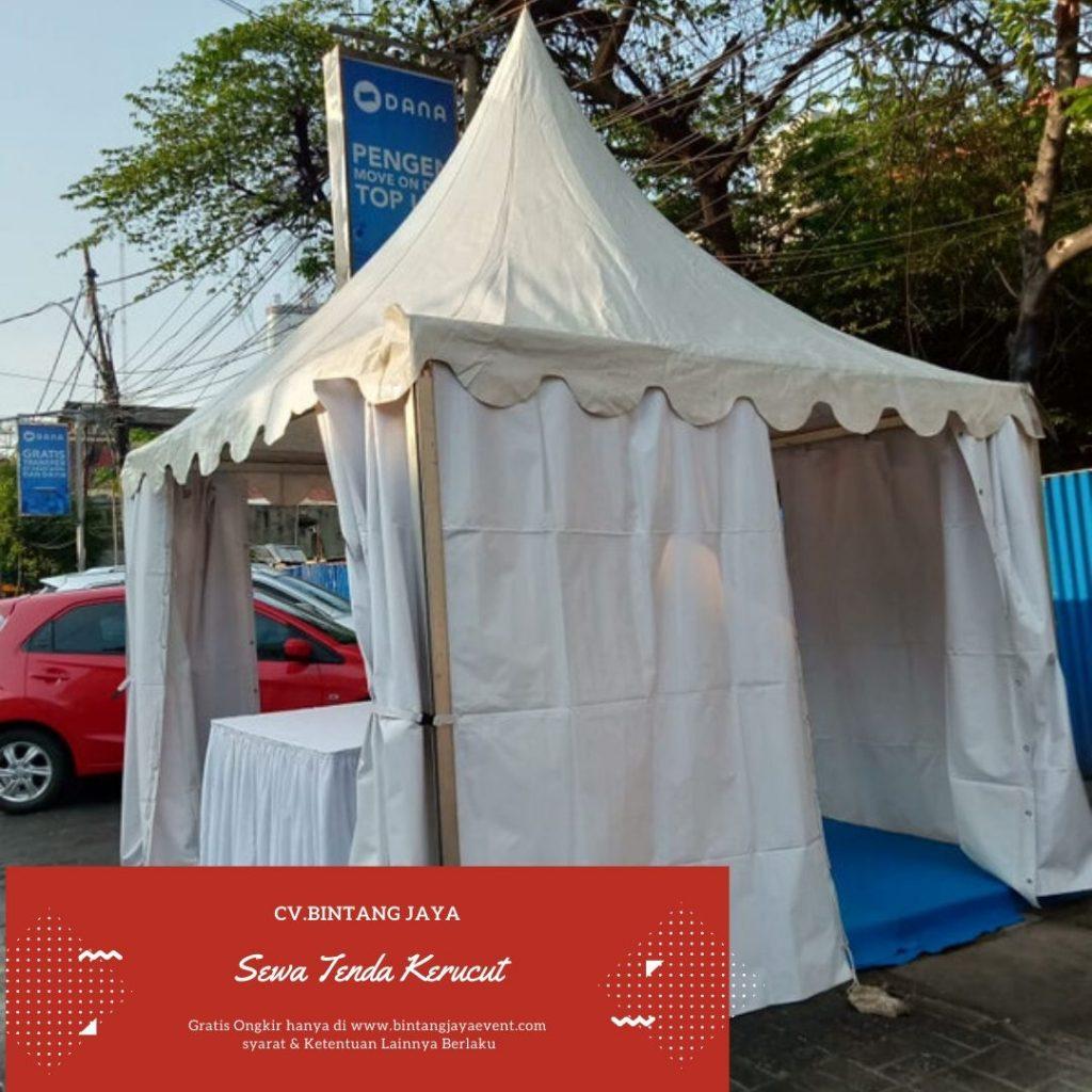 Jasa Rental Tenda kerucut Murah 3x3 & 5x5 Promo Akhir Tahun