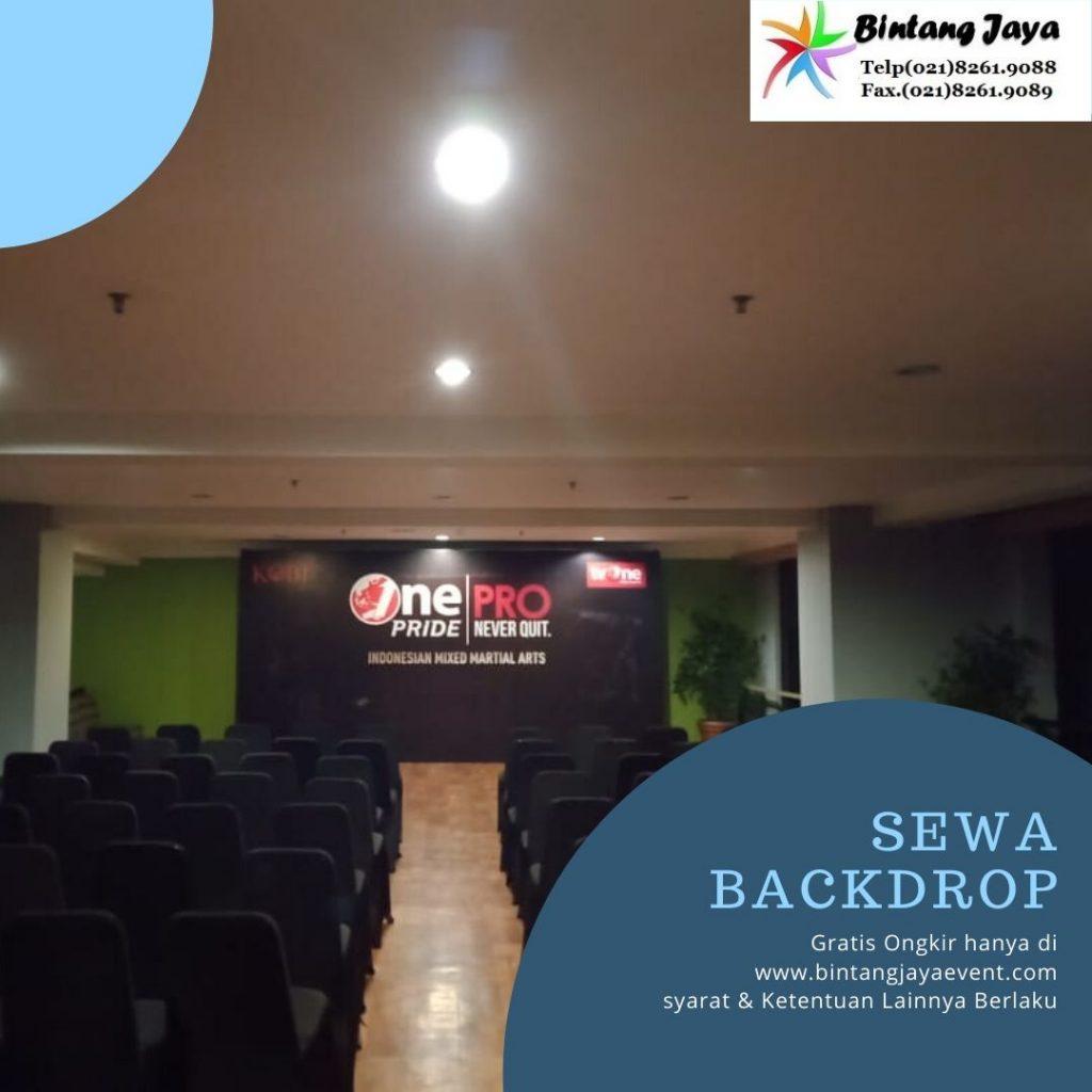 Jasa Sewa Backdrop Event