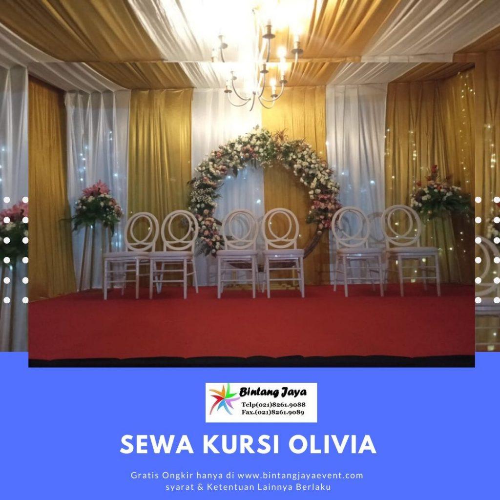 Sewa Kursi Olivia Jakarta Pusat
