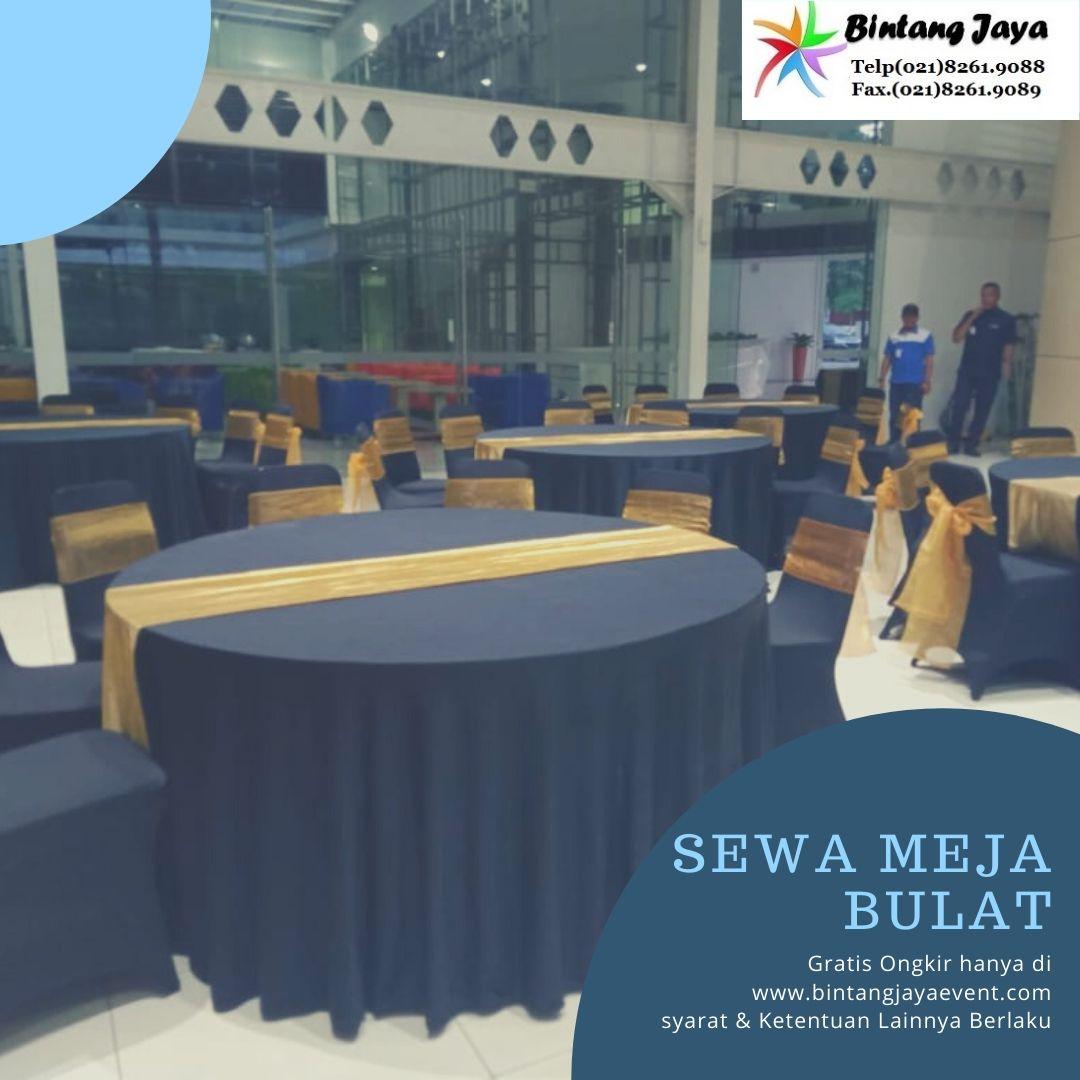 Rental Meja Bulat event Kantor Jakarta