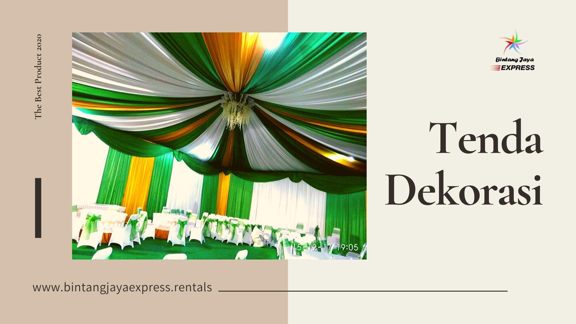 Sewa Alat Pesta Bintang Jaya Express