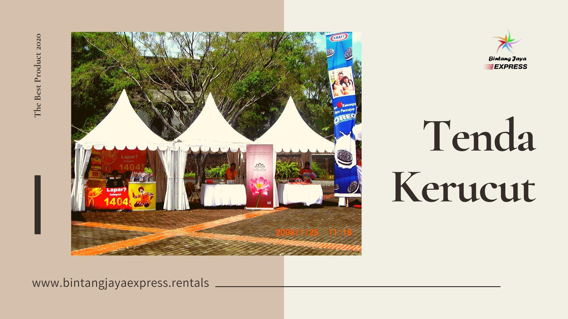Sewa Alat Pesta Bintang Jaya Express Pesan Tanpa Minimum Order