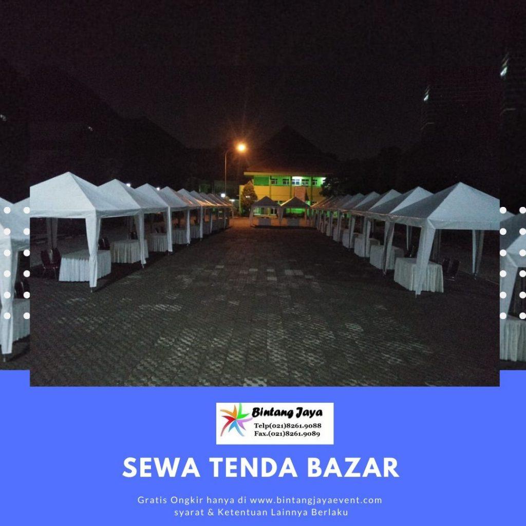 SEWA TENDA BAZAR MURAH