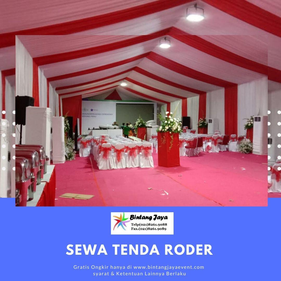 Jasa Sewa Tenda Roder Dekorasi