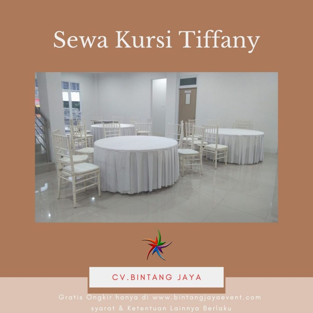 Sewa Kursi Tiffany Dinner