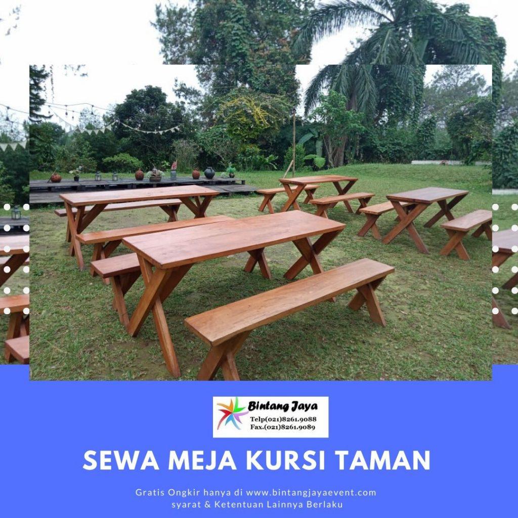 Sewa Meja Kursi Taman Bogor
