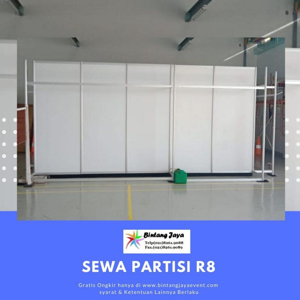 Sewa Partisi R8 Jakarta