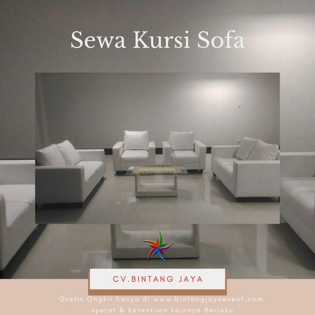 Sewa Kursi Sofa Putih
