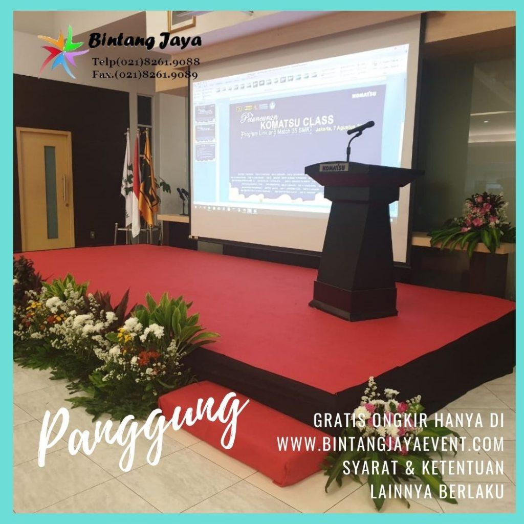Terima Rental Panggung Meteran Murah di Bekasi Utara