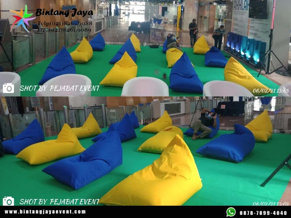 Sewa Bean Bag Waterproof Size L Murah