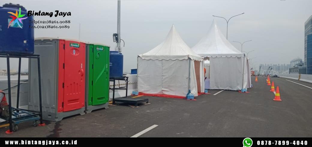 Sewa Tenda Kerucut Tenda darurat PPKM Termurah di Jakarta