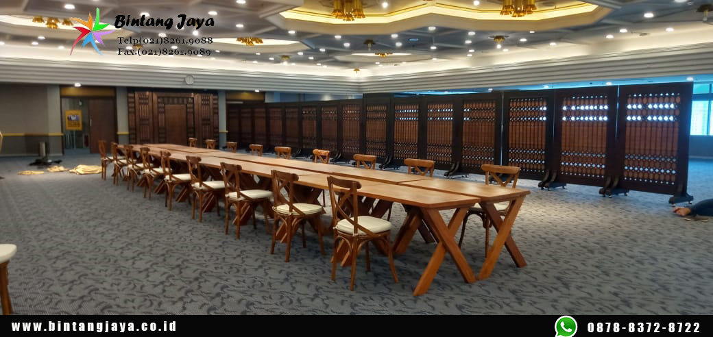 Rental Kursi Crossback Premium Rawamangun