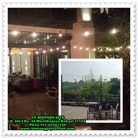 Jasa Rental Lampu Taman dan Alat Pesta-Bogor